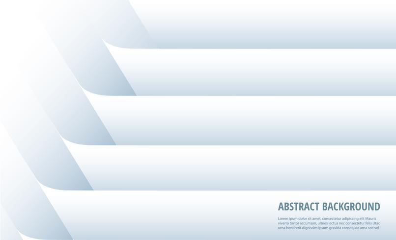 Abstracte witte lijnachtergrond vector