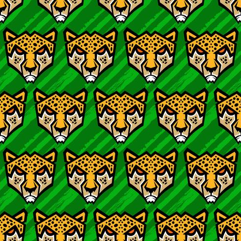 Cheetah grote kat vectorillustratie vector