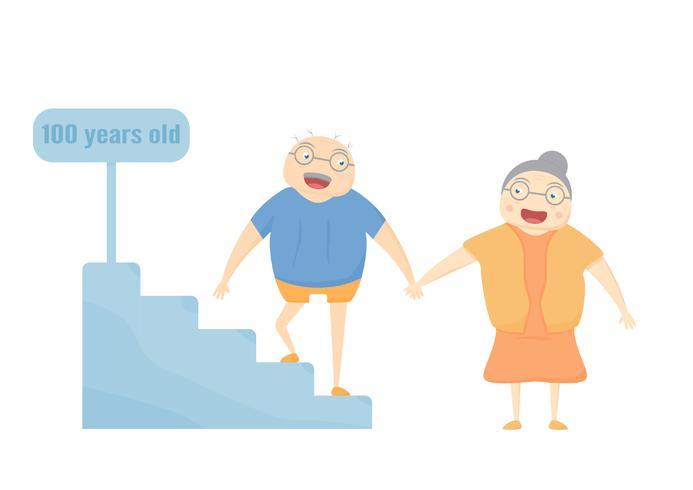Familie-activiteit is smilling op witte achtergrond. Vector illustra