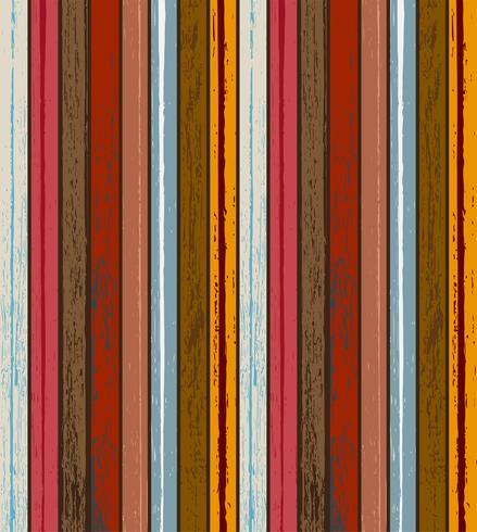 Kleurrijke houtstructuur achtergrond vectorillustratie. Materiaal en textuur concept. vector