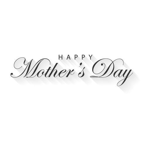 Gelukkige moederdag kalligrafie belettering voor wenskaart. Vakantie- en evenementconcept. Vector illustratie