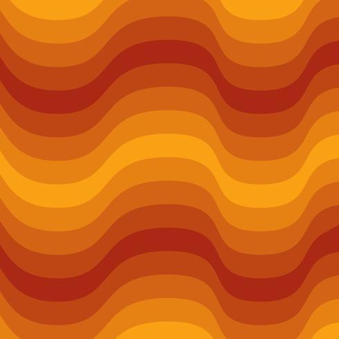 Oranje en bruin Lava laag patroon achtergrond vector