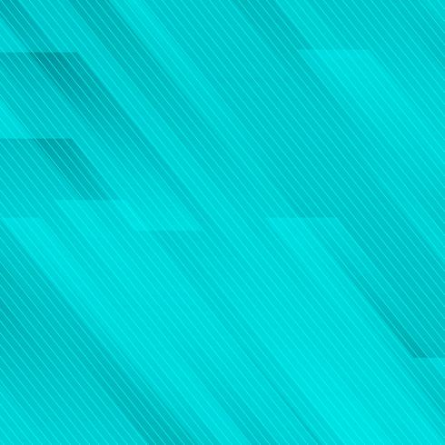 Abstracte geometrisch schuin met lijnen blauwe turkooise achtergrondtechnologiestijl. vector