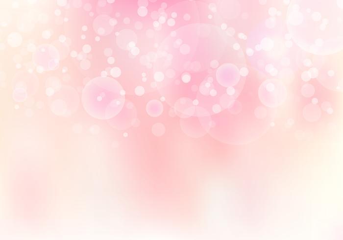 Abstracte roze wazig zachte focus bokeh achtergrond met kopie ruimte vector
