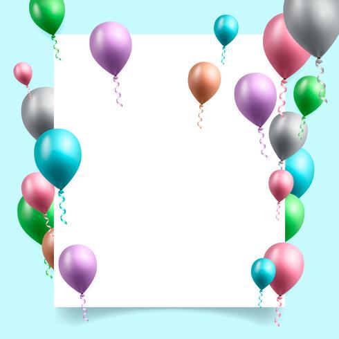 verjaardag viering achtergrond vectorillustratie vector