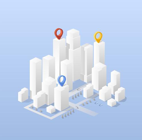 Stadscentrum vector