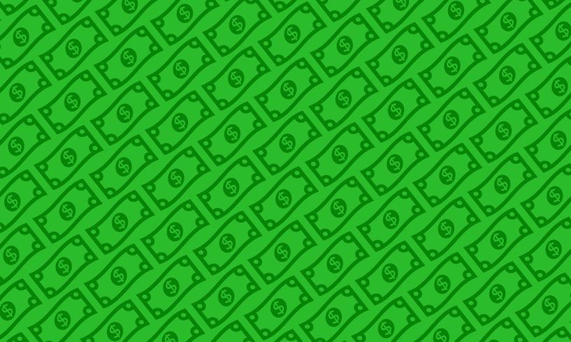 Dollar bill vectorillustratie vector