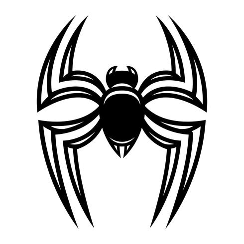 Spin insect bug vector