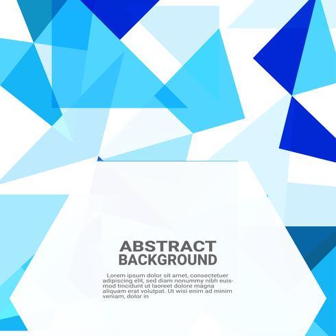 Abstracte geometrische achtergrond. Geavanceerd technische computerinnovatie op de blauwe achtergrond. Vector illustratie eps10.