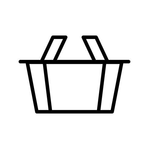 Mand lijn zwart pictogram vector