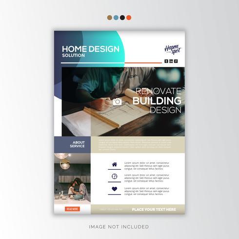 Home Design, Creative Business Design vector