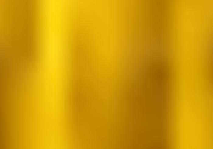 Gouden kleurovergang vervaagde stijl achtergrond. gouden metalen materiële textuur. vector