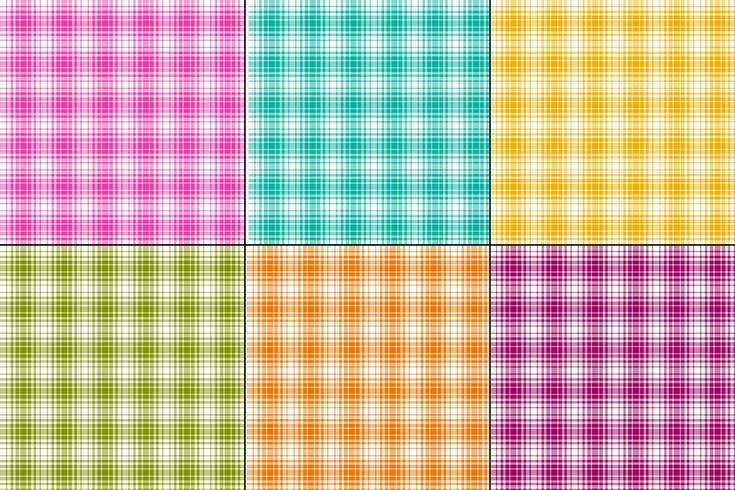 kleurrijke ombre vector plaids