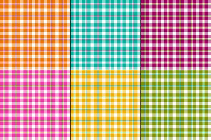 kleurrijke vector plaids