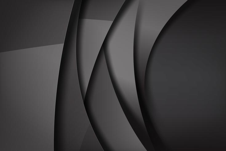 Abstracte achtergrond donker en zwart overlapt 006 vector