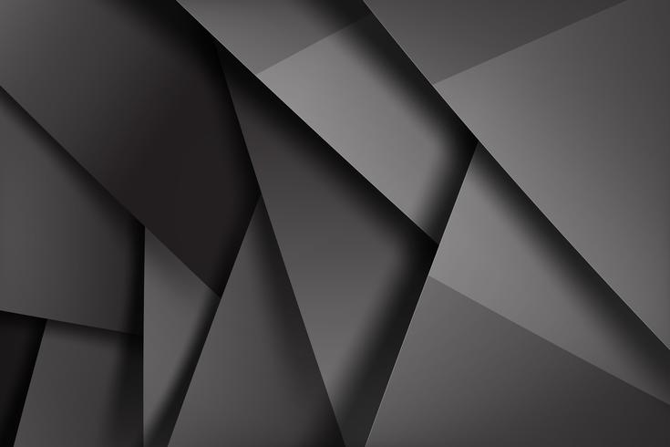 Abstracte achtergrond donker en zwart overlapt 005 vector