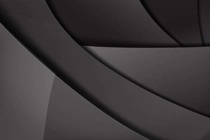 Abstracte achtergrond donker en zwart overlapt 012 vector