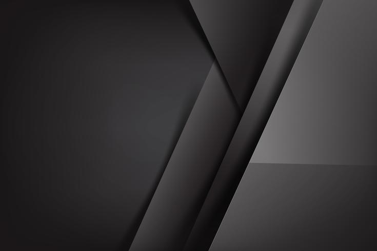 Abstracte achtergrond donker en zwart overlapt 001 vector