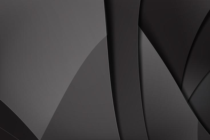 Abstracte achtergrond donker en zwart overlapt 013 vector