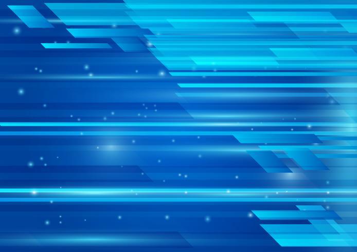 Geometrische blauwe kleur en lichte abstracte vectorillustratie als achtergrond EPS 10 vector