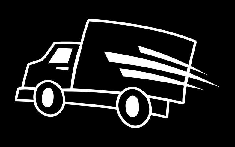 Vrachtwagen vector