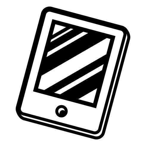 tablet vector pictogram