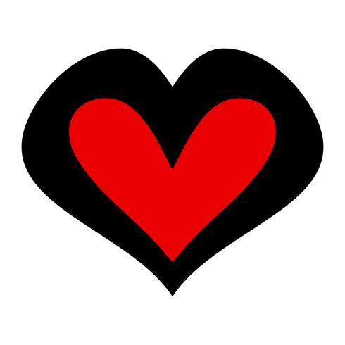 Heart Romantic Love afbeelding vector