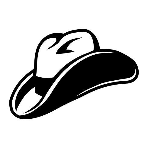 westerse cowboyhoed vector