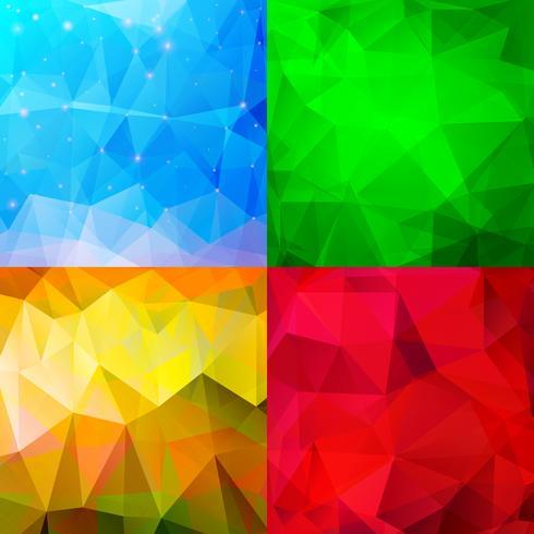 Abstracte achtergronden vector