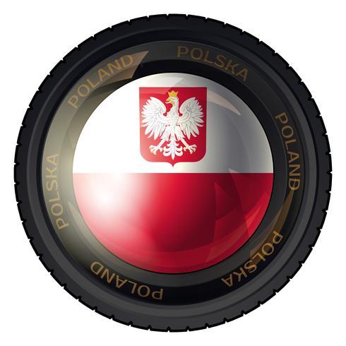 Polen vector