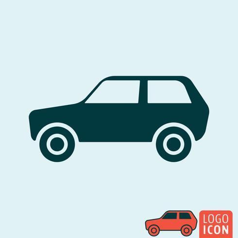 Auto pictogram geïsoleerd vector