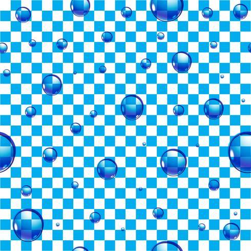 Achtergrond waterdruppels vector