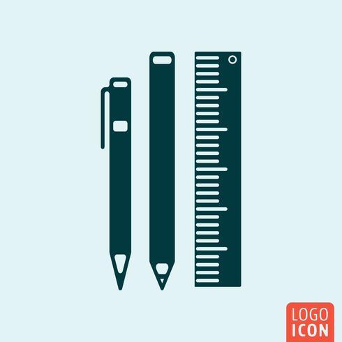 Kantoorapparatuur pictogram vector