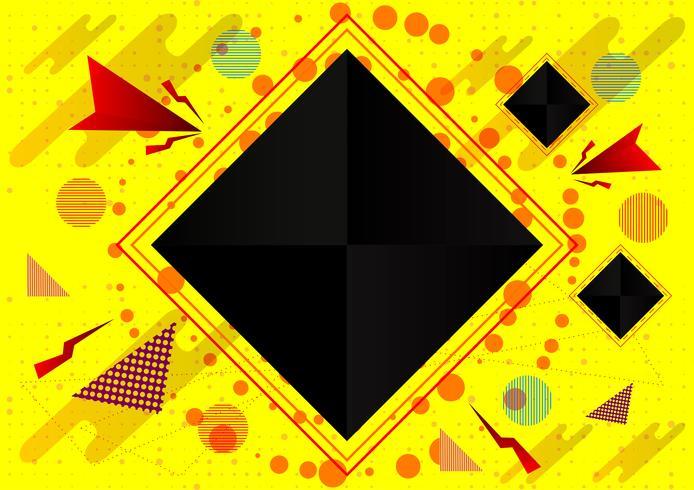 Abstracte geometrische achtergrond, Vectorillustratie eps10 vector