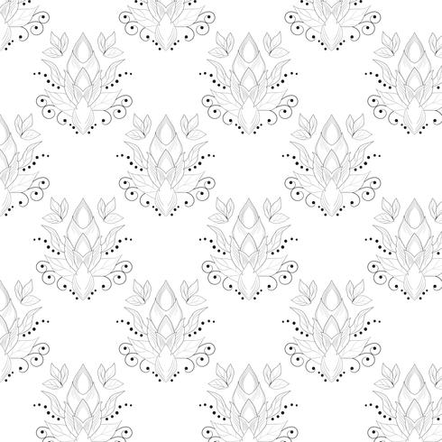 Lijn zwart patroon met samenvatting voor texturen, web-pagina achtergronden, textiel en meer. vector