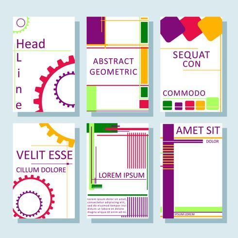 brochures8 vector