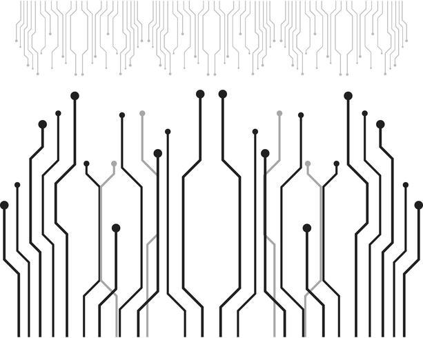 Circuit Logo sjabloon vector