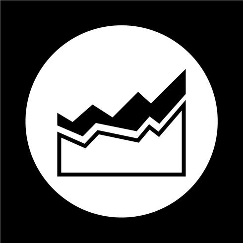 Grafiek pictogram vector