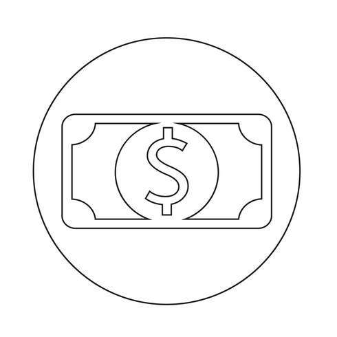 geld pictogram vector