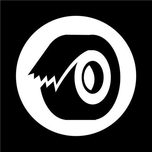 tape pictogram vector