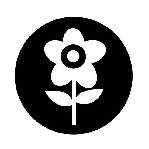 Bloem pictogram vector