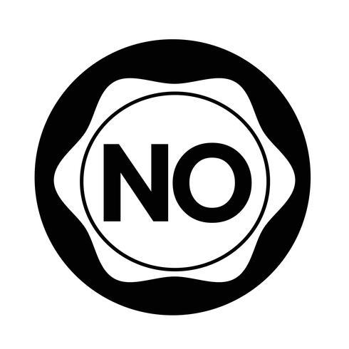 geen knop vector