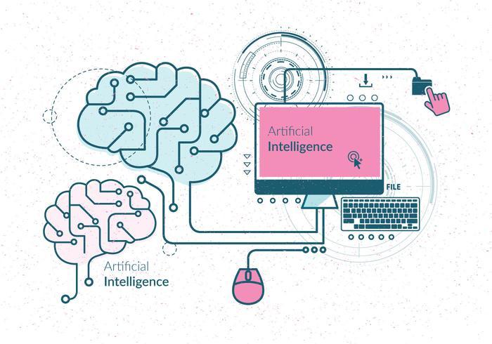 Kunstmatige intelligentie Vector