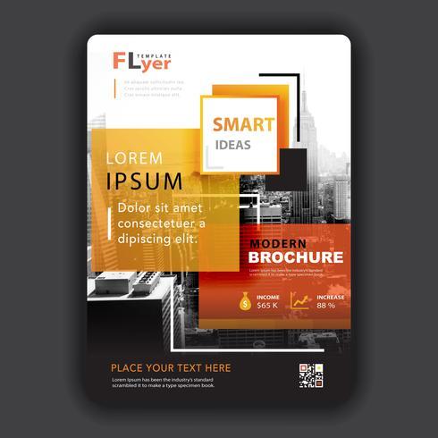flyer voor bedrijfspromotie vector