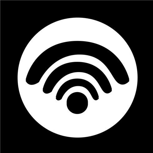 Teken van wifi-pictogram vector