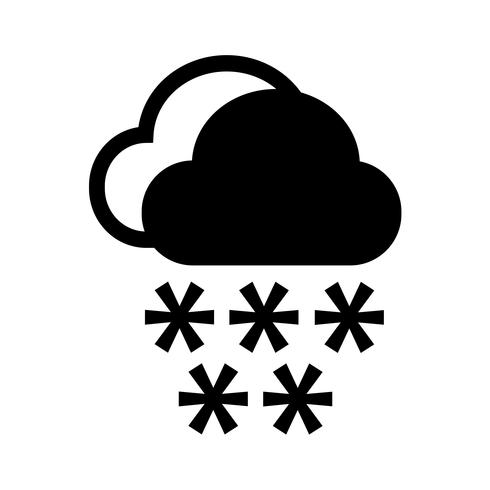 Cloud regen pictogram vector
