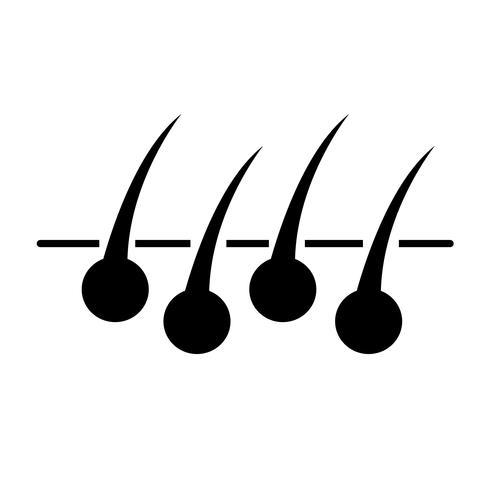 Teken van haar pictogram vector