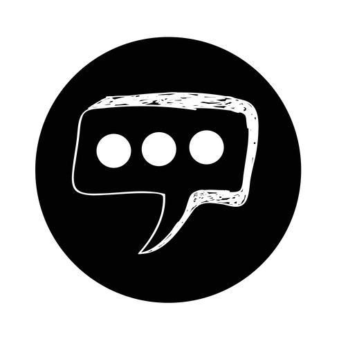 Speech Bubble-pictogram vector
