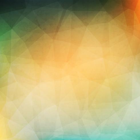Groene geometrische achtergrond vector