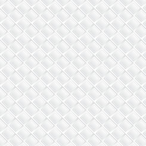 Moderne witte achtergrond. Witte vierkante geometrische papier kunst stijl achtergrond vector